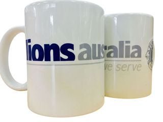 Lions Aust Presentation Mug