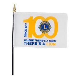 """Centennial Flag (4"""" x 6"""")"""