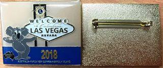 Trading Pin Las Vegas 2018