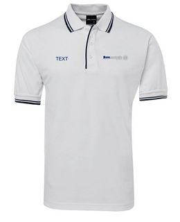 Ladies White Polo Shirt 10