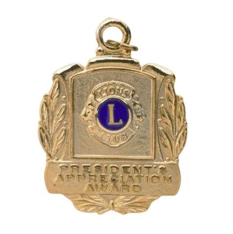 President Appreciation Medal
