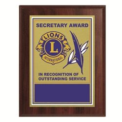 Secretary Plaque - c