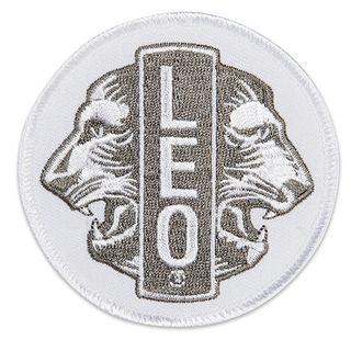 """Leo 3"""" Embroidered Emblem"""