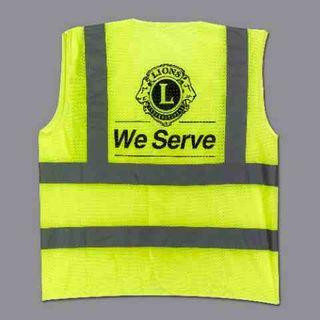 Lions Safety Vest - 3X Large