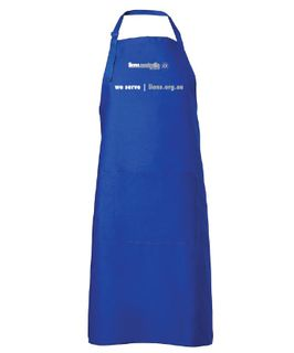 BBQ Bib Apron (pocket) - Long