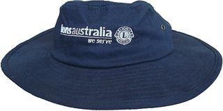 Brimmed Hat - Size 55cm