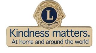 Kindness Matters Pin- Gold