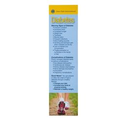 Diabetes Bookmark- Information