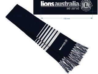 Lions Aust Sport Scarf
