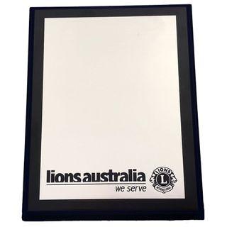 Lions Aust Timber Plaque - S