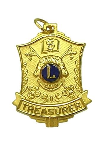 Treasurer Award Medal