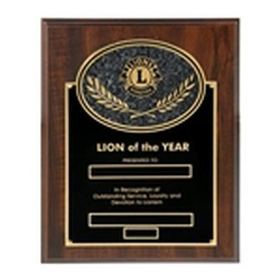 Lion of the Year Plaque - c