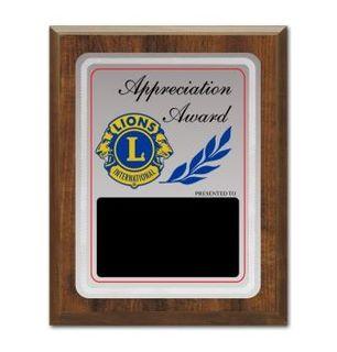 Appreciation Award Plaque - c