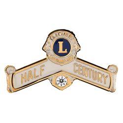 Half Century Award Pin