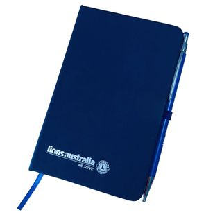 Lions Aust Notebook with Pen