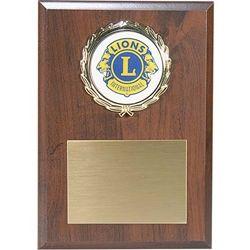 Medallion Plaque - c
