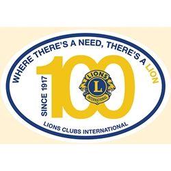 Centennial Euro Sticker