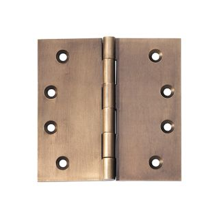 TRADCO HINGE 100X75X3MM FIXED PIN AB