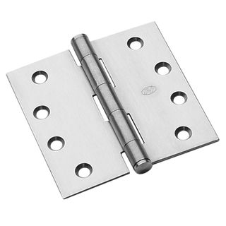 NOVAS HINGE 100X100X2.5MM FIXED PIN SSS