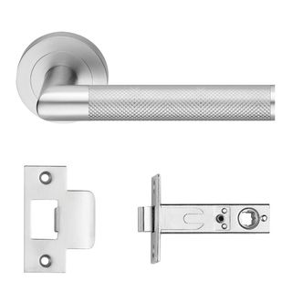 DESIGNER DOORWARE KALI-KAMEN LEVER PRIVACY SET SC