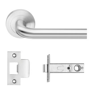DESIGNER DOORWARE FLINDERS LEVER PRIVACY SET SC