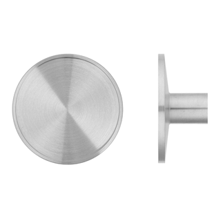 DISHED NIKI SINGLE CABINET KNOB 50MM DIA