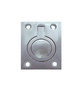 FLUSH PULL RING 62X45MM SS