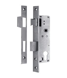 49200 EURO MORTICE LOCK 25MM SS