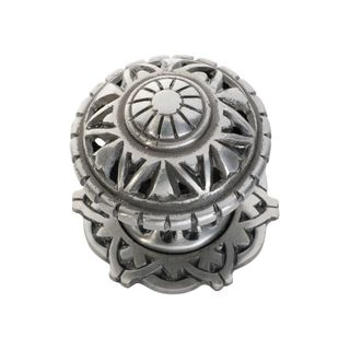 CENTRE DOOR KNOB IRON FILIGREE PM