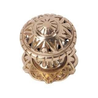 CENTRE DOOR KNOB FILIGREE PB
