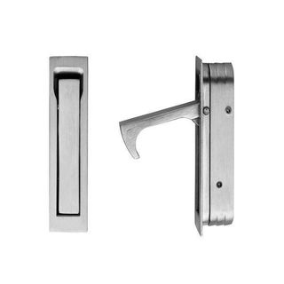 SQUARE - SHAPED EDGE PULL 70X19MM SN
