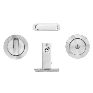 ROUND FLUSH PRIVACY SET SC (MIN 36MM)
