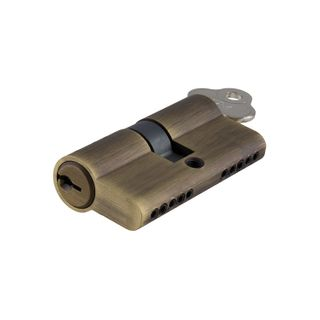 EURO CYLINDER KEY/KEY 5 PIN AB 60MM
