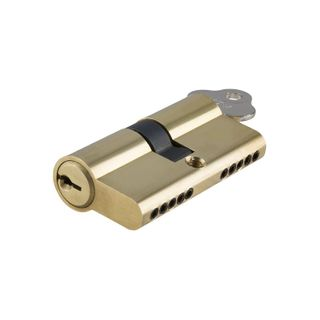 EURO CYLINDER KEY/KEY 5 PIN PB 60MM