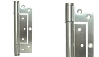JUSTOR INTERLEAF SPRING HINGE WHITE
