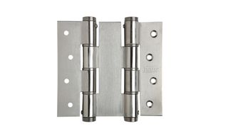 JUSTOR DOUBLE ACTION HINGE 120X133MM SS