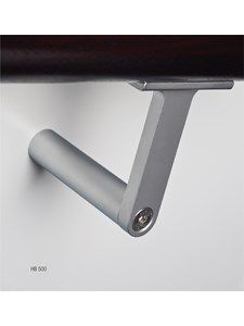HB STAIR RAIL BRACKET ALUMINIUM EMB