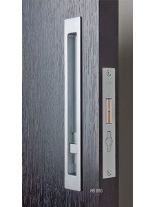 HB SLIDING PRIVACY LOCK BRUSHED NICKEL