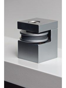HB MAGNETIC DOOR STOP/HOLDER WHT