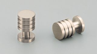 KETHY UHURA BRASS KNOB BRUSHED NICKEL