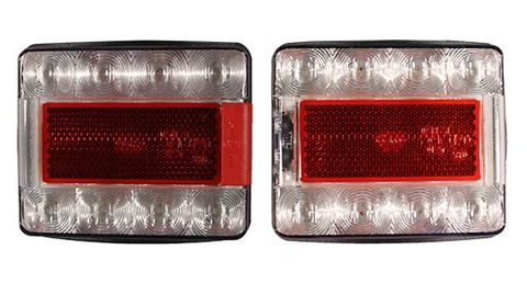Wood Splitter 12/24v LED tail lights (pair)