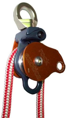 Rock Exotica Omni Block 1.5 Double Swivel Pulley