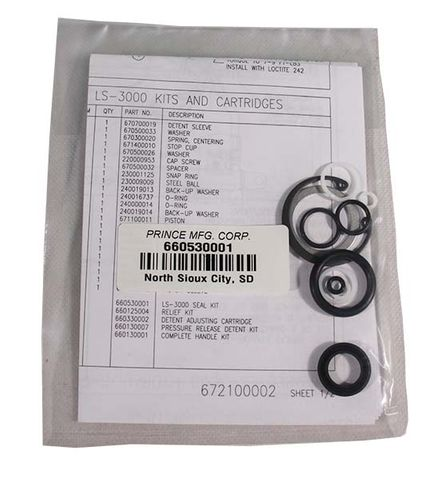 LS3000 Valve Bank O Ring Kit