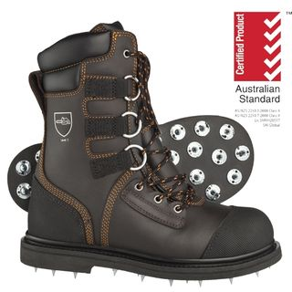 Spiked Safety Boots
