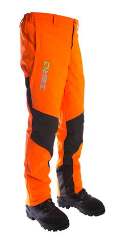 Zero Gen2 Orange Chainsaw Trousers