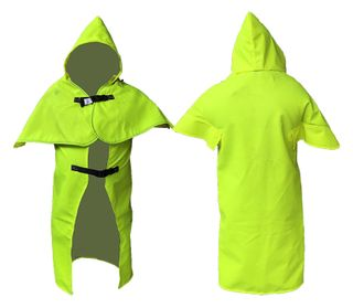 Butterfly Cape Hi-Vis Yellow with Hood