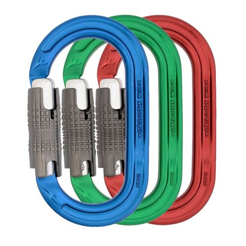 DMM Ultra O Locksafe - Colour 3 Pack  (Blue/Green/Red)
