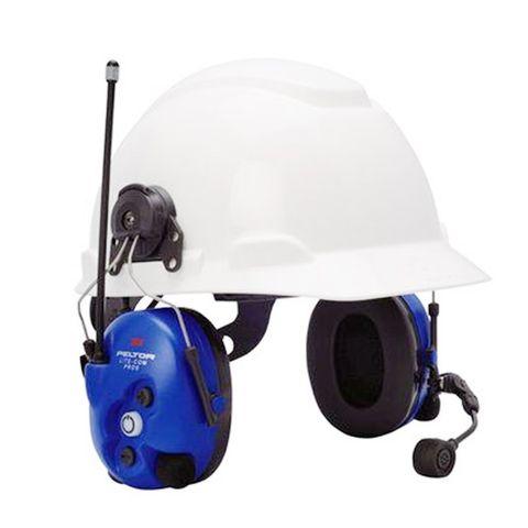 PELTOR™ LiteCom™ Pro II Helmet Attached