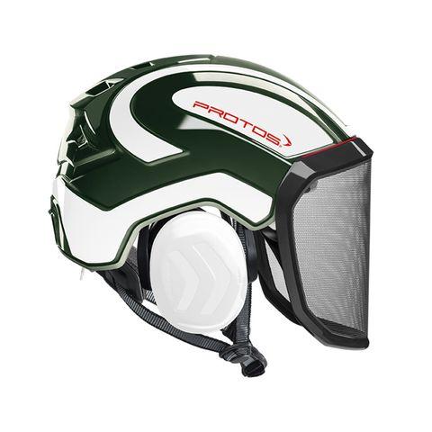PROTOS® Integral Arborist Helmet - Olive/White