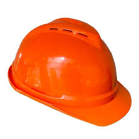 MSA Vented Helmet Orange
